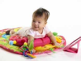 torticollis treatment tummy time mat