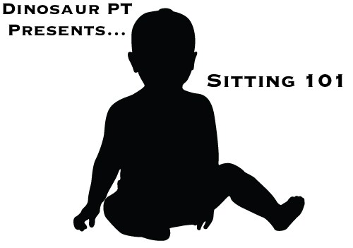 Teaching child to sit