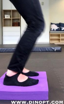 toe walking exercise
