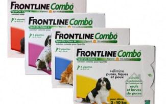 Frontline Combo voor honden