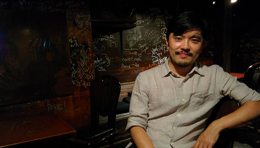 A Light In The Attic's Yosuke Kitazawa in a bar in Shibuya talking about Japanese music