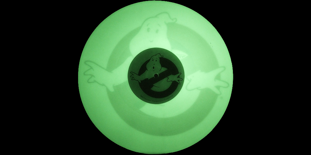 glow in the dark vinyl of Ghostbusters soundtrack