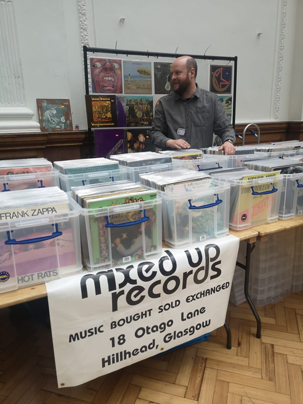 Mixed Up Records Glasgow