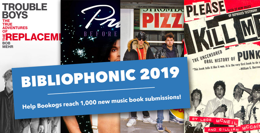 Submit music books for the Bibliophonic drive