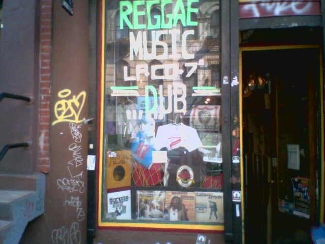 Jammyland storefront in NYC