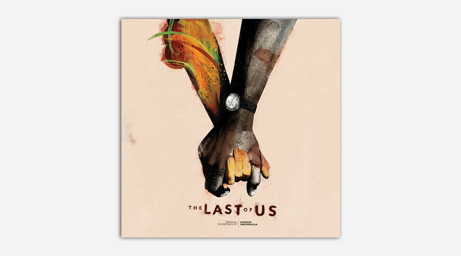 The Last of Us soundtrack album cover