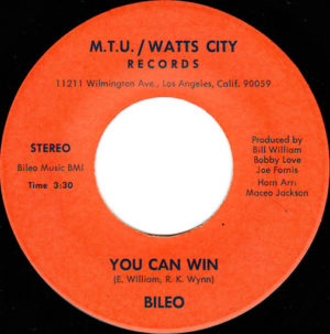 Bileo ‎– You Can Win / Let's Go