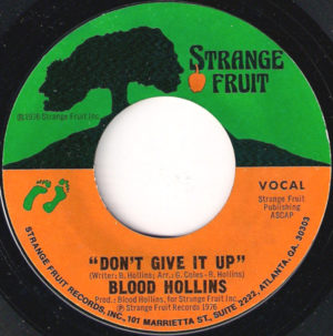 Blood Hollins – Don't Give It Up