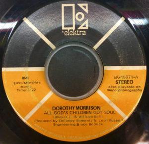 Dorothy Morrison – All God's Children Got Soul