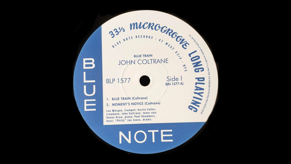 blue note records john coltrane