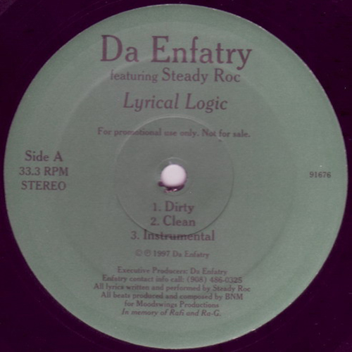 Da Enfatry ‎– Lyrical Logic : This World