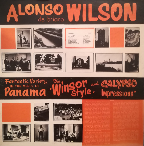 Alonso Wilson De Briano ‎– Fantastic Variety In The Music Of Panama - The Winsor Style And Calypso Impressions