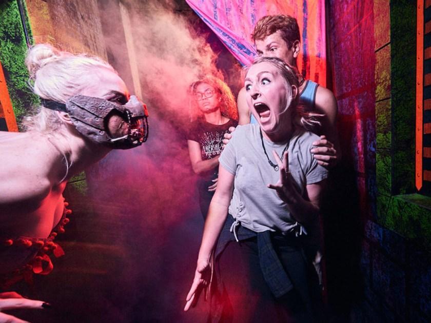 Casas encantadas en Halloween Horror Nights