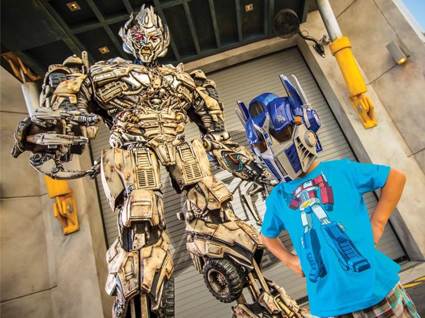 02_TRANSFORMERS The Ride - 3D Megatron