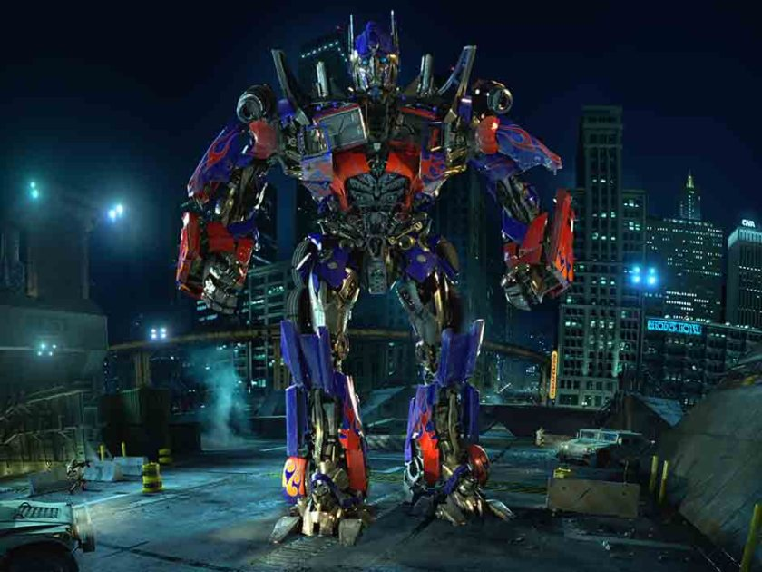Optimus Prime from TRANSFORMERS The Ride - 3D