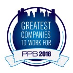 PPB Greatest Companies to Work For 2018 logo