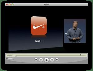 Keynote WWDC - iPhone 3G S - Nike+