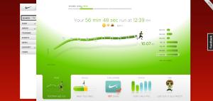Nouvelle version de NikeRunning.com - Liste des entrainements