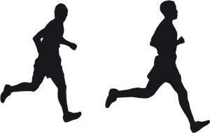 Duo runners