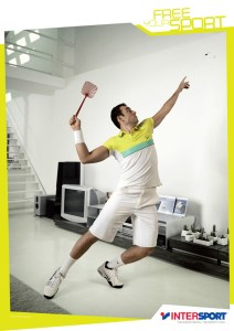Publicité Intersport - Tennis