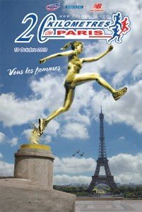 Affiche 20km Paris 32ème édition / 10/10/10