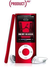 iPod Nano - (PRODUCT) RED