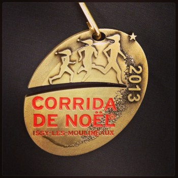 Corrida de Noël 2013 - Médaille