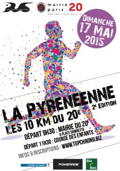 La pyrénéenne - 10km du 20ème arrondissement