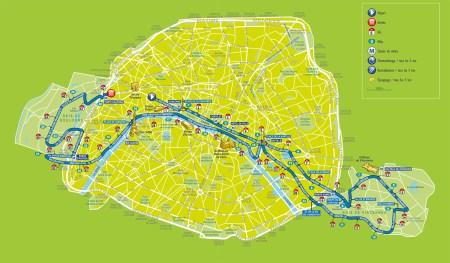Iténéraire-Marathon-de-Paris-2016