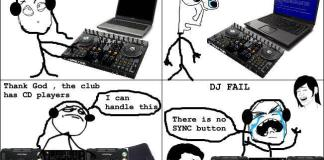 Fake DJ no beat matching