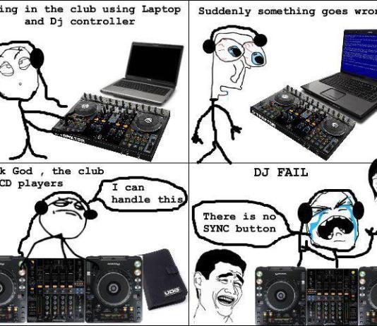 Fake DJ no beat matching