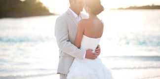 Wedding bride groom destination