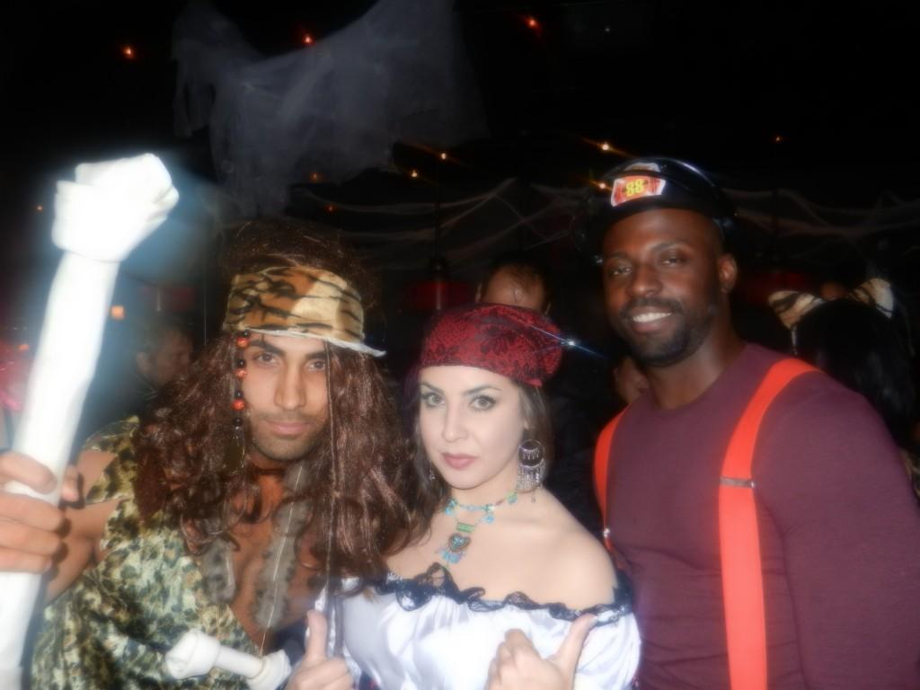 Iranian halloween club party Toronto