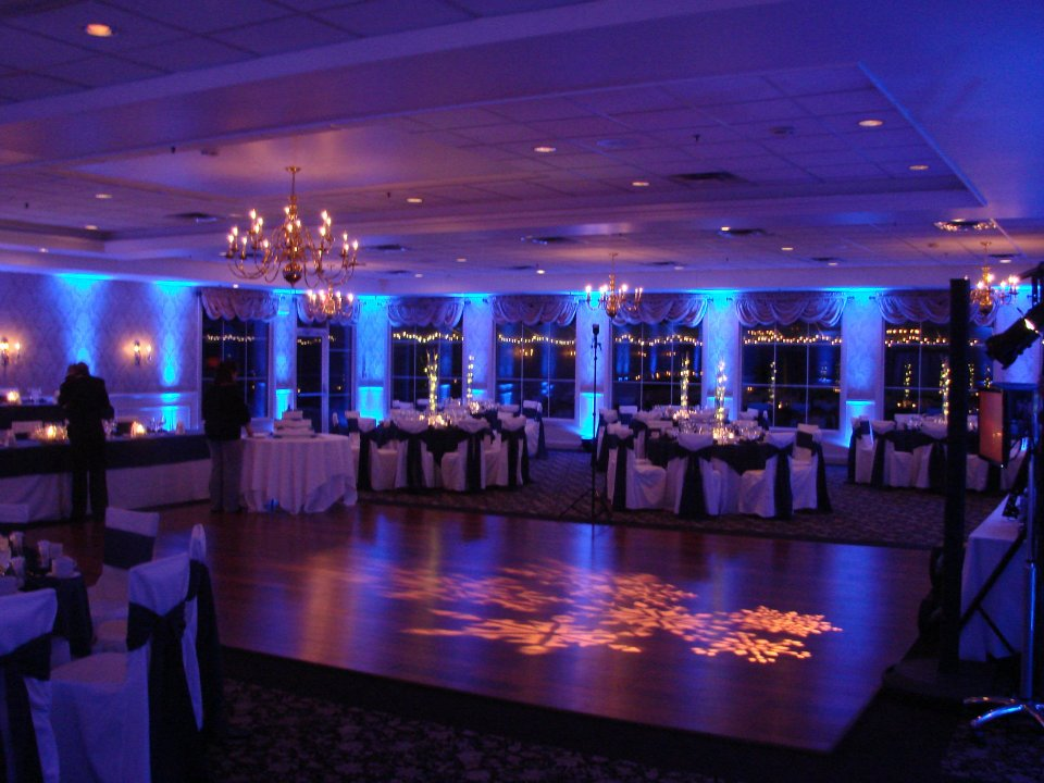 toronto wedding decor up lights