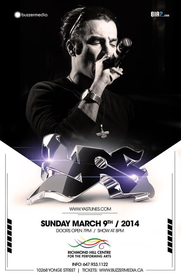 Persian rap concert in Toronto