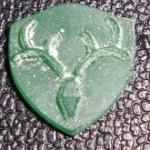 鹿モチーフピアス