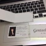 Genteelのニューサンクスカードが 出来上がりました!