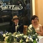 お客様の結婚式 二次会に参加!結婚指輪デザイナー冥利につきます。
