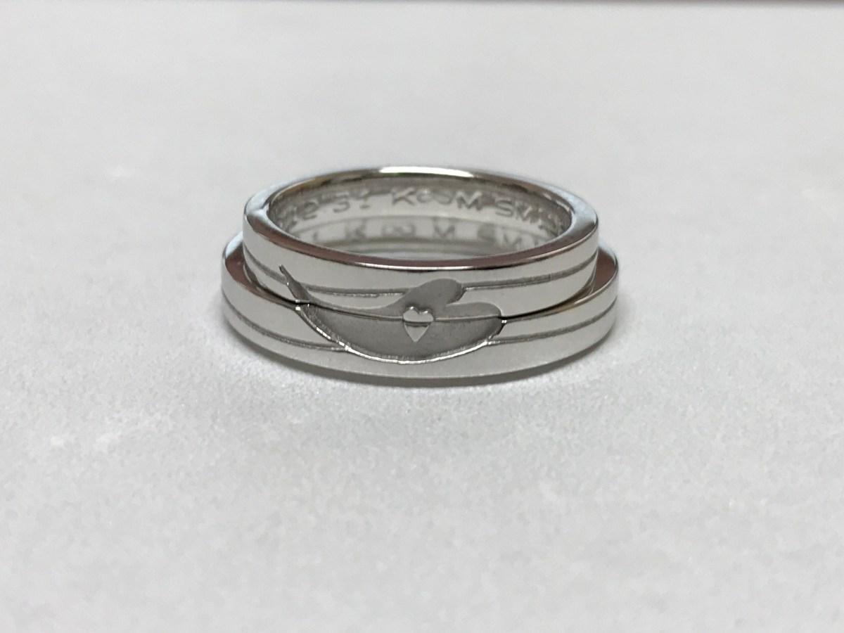 <デジタルジュエリー®結婚指輪オーダー>でご注文いただきました制作事例
