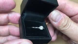 サプライズプロポーズダイヤモンドリング BY デジタルジュエリー®秘密基地を公開