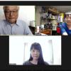 本日のどこでもドア(Online授業)は会津若松・東京・長崎でした。