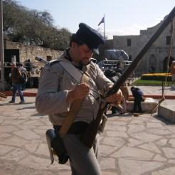An Alamo Soldier