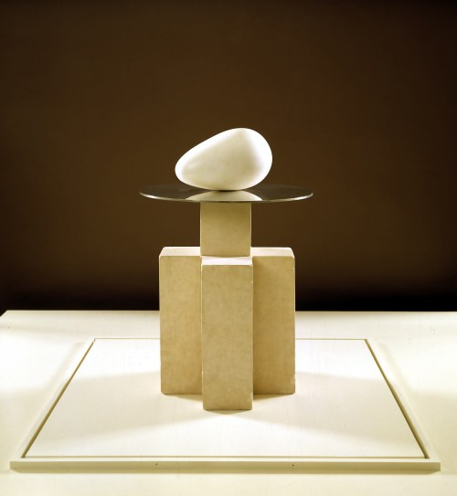 Constantin Brancusi, The Beginning of the World, c. 1920, Dallas Museum of Art, Foundation for the Arts Collection, gift of Mr. and Mrs. James H. Clark