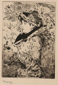 Jeanne: Spring, Edouard Manet