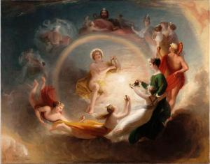 Benjamin West, Apollo's Enchantment, 1807, Dallas Museum of Art, gift of Mrs. Robert A. Beyers