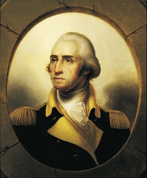 Rembrandt Peale, George Washington, c. 1850, oil on canvas, Dallas Museum of Art, The Karl and Esther Hoblitzelle Collection, gift of the Hoblitzelle Foundation