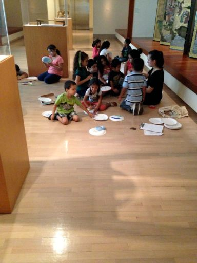 Participants were invited to bring their children, who made art projects in the Museum galleries with DMA and MAP staff.