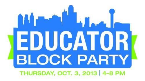 Educators Block Party logo