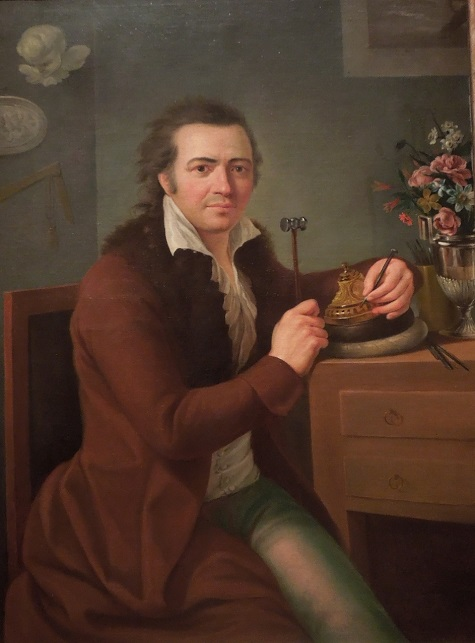 Rafael Ximeno y Planes, The Silversmith Jose Maria Rodallega, c. 1795, oil on canvas, Lent by Felipe Siegel, Anna and Andres Siegel