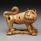 Sword ornament in the form of a lion, Ghana: Ashante peoples, mid 20th century, Dallas Museum of Art, The Eugene and Margaret McDermott Art Fund, Inc.